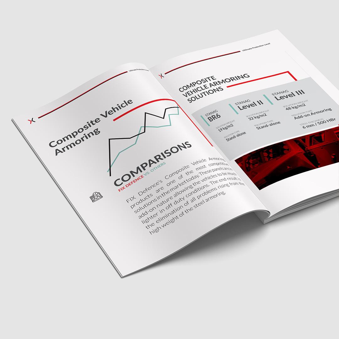 Gunery digital agency Fix defence industry web design graphic design catalog design photo 2 new 2